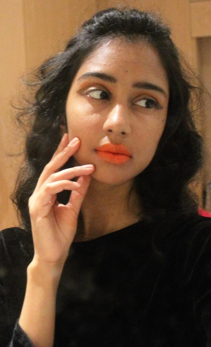 Orange Makeup Look Inspired by the Pumpkin