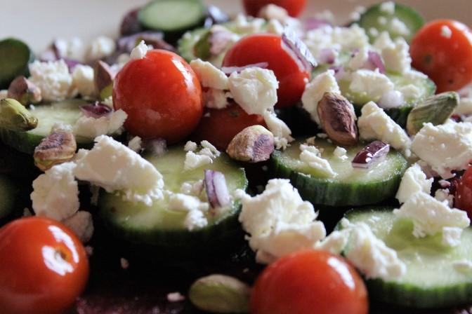 Quick Beetroot & Feta Salad